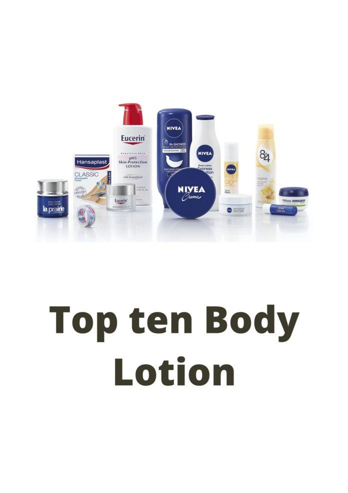 top 10 body loation